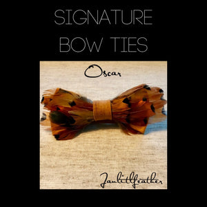 Janlitlfeather Signature Bow Ties