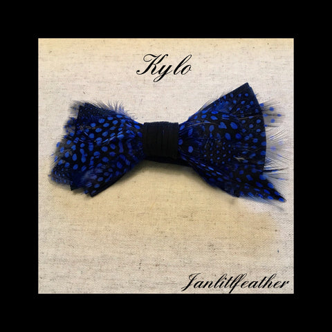 Kylo Feather Bow Tie