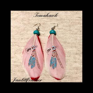 Feather Earrings - Janlitlfeather