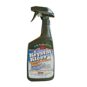 Krystal Kleer Glass & Hearth Cleaner - Can Be Used On Tempered Glass
