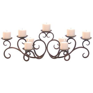 Hawthorne Candelabra - Holds 9 Candles (Not Included)