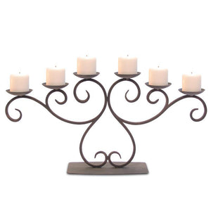 Lakewood Candelabra - Holds 6 Candles (Not Included)