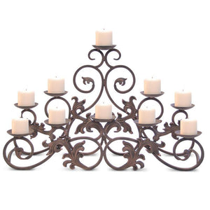 Venice Candelabra - Holds 10 Candles (Not Included) - McCready's Hearth and Home