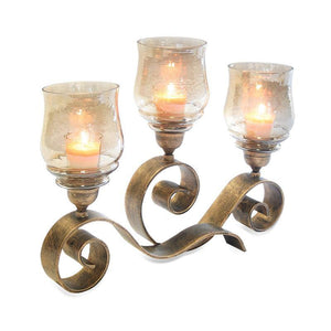Mayfair Candelabra - Holds 3 Candles (Not Included) - McCready's Hearth and Home
