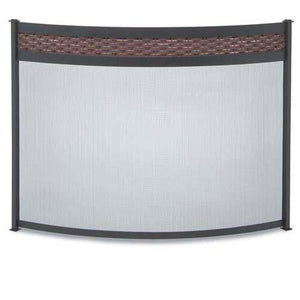 Bowed Basket Weave Screen - McCready's Hearth and Home