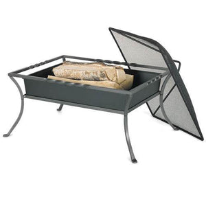 Napa Fire Pit with Mesh Ember Cover