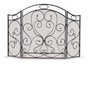 3 Panel Shakespeare's Garden Screen - McCready's Hearth and Home