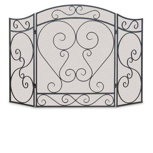 3 Panel Country Scroll Screen - McCready's Hearth and Home