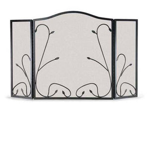 3 Panel Leaf & Vine Screen - McCready's Hearth and Home