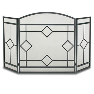 3 Panel Art Nouveau Screen - McCready's Hearth and Home