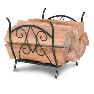 Forged Crest Wood Holder - McCready's Hearth and Home