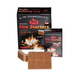 Break 'N' Burn Fire Starter Squares - 288 Squares Total