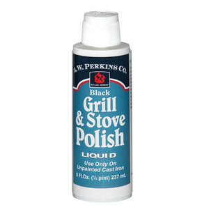 Grill & Stove Polish Liquid - For Unpainted Cast Iron