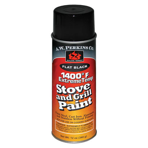 1400ºF Stove Paint Spray - Flat Black