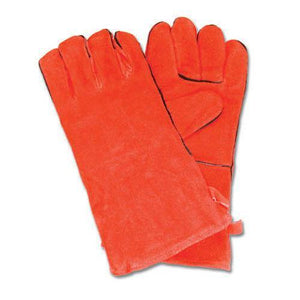 Short Suede Hearth Gloves - McCready's Hearth and Home