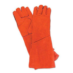 Long Suede Hearth Gloves - McCready's Hearth and Home