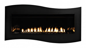 Boulevard Tide Water Decorative Front - Matte Black - McCready's Hearth and Home