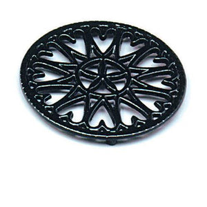 Porcelain Sunburst Trivet - More Colors - McCready's Hearth and Home
