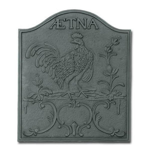 Aetna Cast Iron Fireback