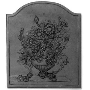 Bouquet Cast Iron Fireback