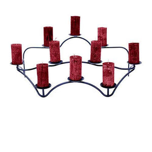 Contours Hearth Candelabra - Holds 10 Candles