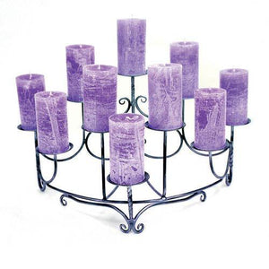 Spandrels Hearth Candelabra - Holds 10 Candles