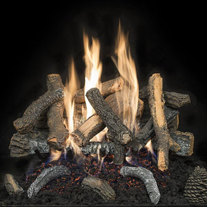 Cascade Char Stack - Electronic Variable Flame On/Off Ignition - Includes Remote - McCready's Hearth and Home