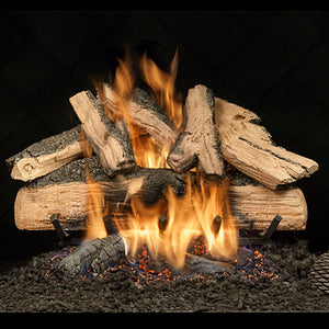 Elegant Charred Split Oak - See Thru - Safety Pilot