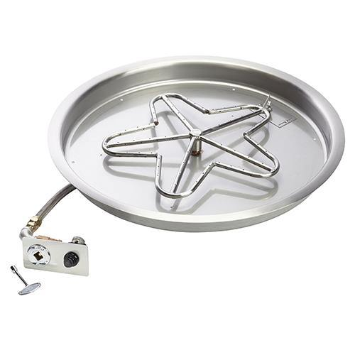 Penta Bowl Burner With Flame Sensing, Manual Spark