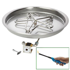 Penta Bowl Burner - Match Lit - UL Certified - McCready's Hearth and Home