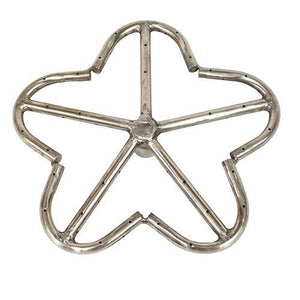 "12"" Stainless Steel Penta Fire Ring"