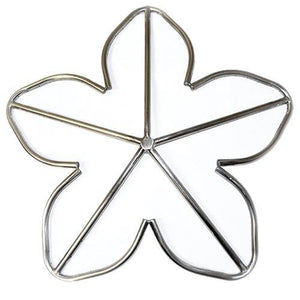 "12"" Stainless Steel Penta Fire Ring - McCready's Hearth and Home"