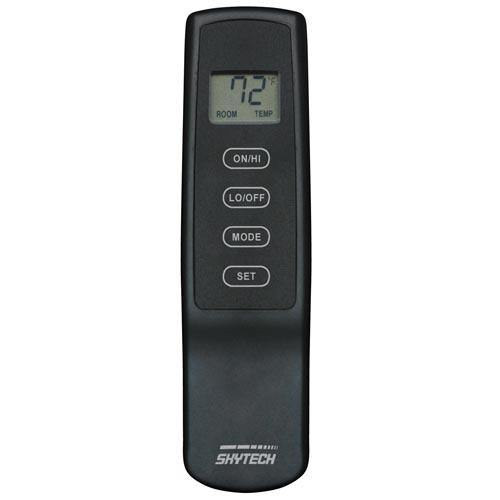 Rotary Variable Flame Height Remote Control With LCD