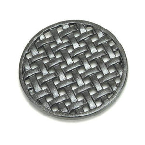 Cast Iron Round Lattice Trivet