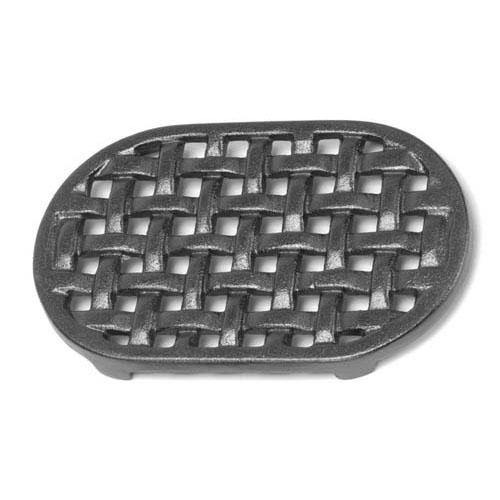 Cast Iron Oval Lattice Trivet