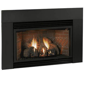 "Classic Steel Surround - 6"" Legs & 6"" Header - McCready's Hearth and Home"