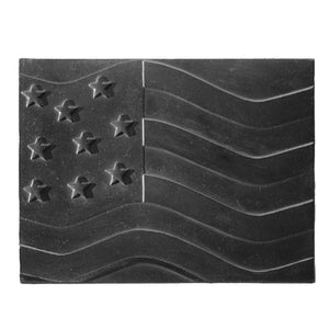 American Flag Fireback - McCready's Hearth and Home