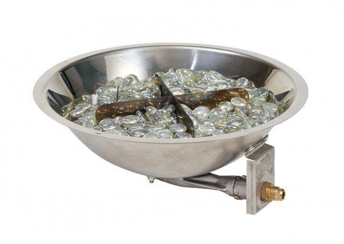Round Stainless Steel Gas Burner