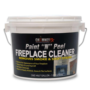 Chimney RX Paint N Peel Fireplace Cleaner - 1/2 Gal