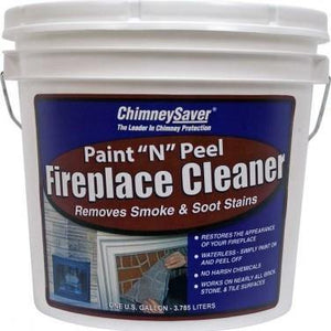 ChimneySaver Paint N Peel Fireplace Cleaner