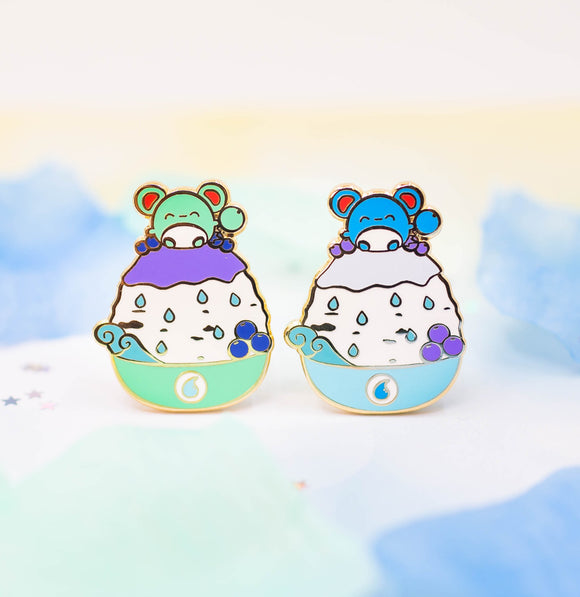 Marill Shaved Ice Pin