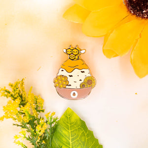 Combee Shaved Ice Pin