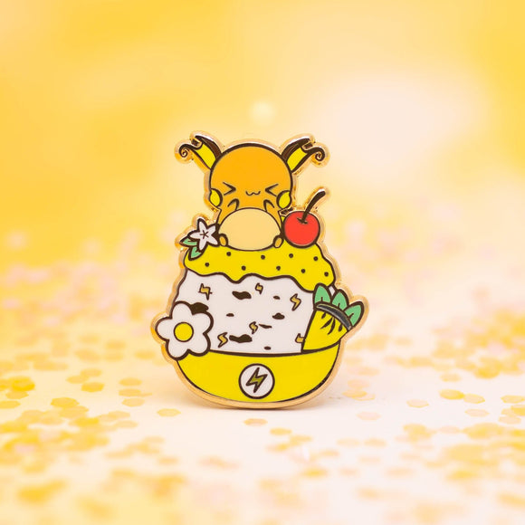 Raichu Shaved Ice Pin