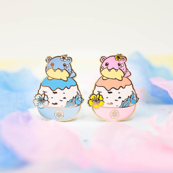Spheal Shaved Ice Pin