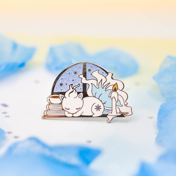 Alolan Ninetales Winter Wonderland Pin