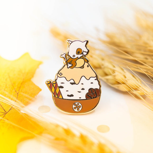 Cubone Shaved Ice Pin
