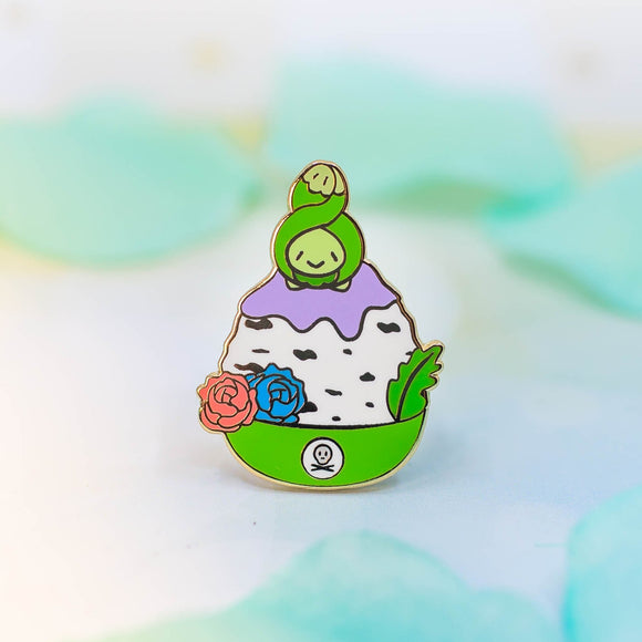 Budew Shaved Ice Enamel Pin