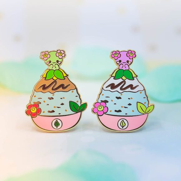 Bellossom Shaved Ice Pins