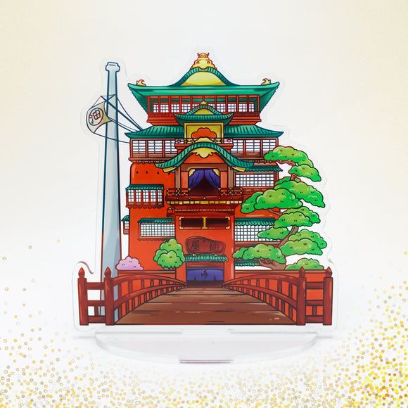 Spirited Away Bathhouse Acrylic Stand