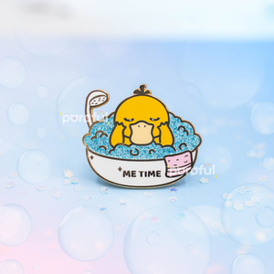 "Psyduck ""Me Time"" Enamel Pin"